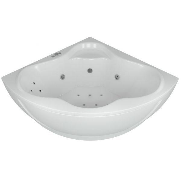 Акриловая ванна Aquatek Галатея 135х135 (сифон)