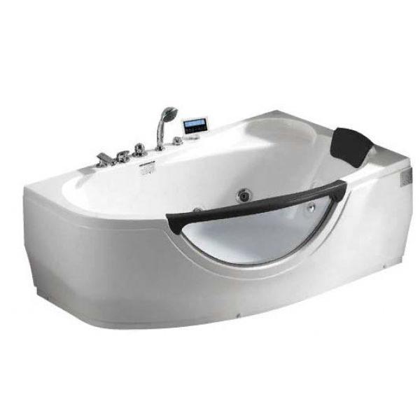 Гидромассажная ванна Gemy G9046 O (сифон автомат)
