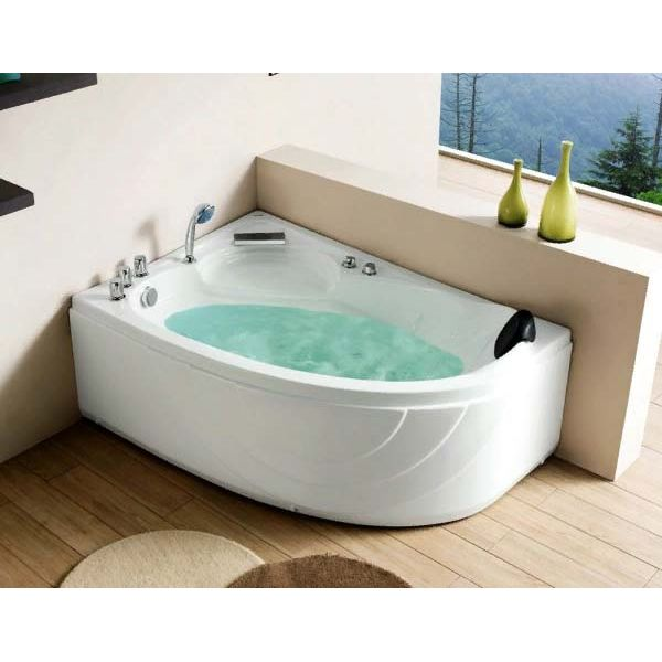 Гидромассажная ванна Gemy G9009 B (сифон автомат)
