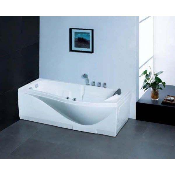 Гидромассажная ванна Gemy G9010 B (сифон автомат)