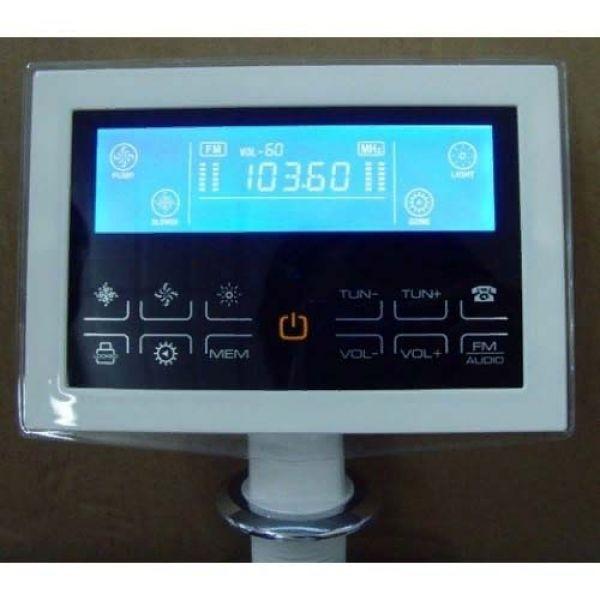 Гидромассажная ванна Gemy G9053 K (сифон автомат)
