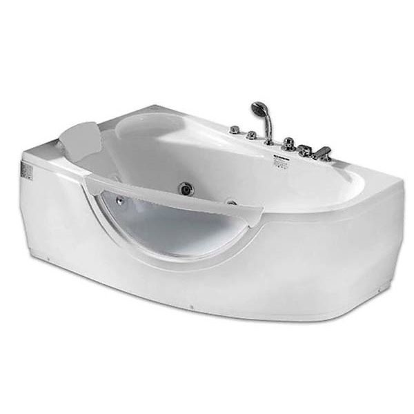 Гидромассажная ванна Gemy G9046 B (сифон автомат)