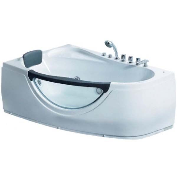 Гидромассажная ванна Gemy G9046-II B (сифон автомат)