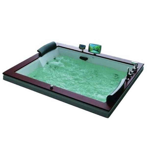 Гидромассажная ванна Gemy G9052-II B (сифон автомат)