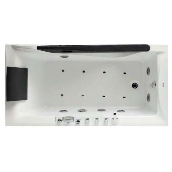 Гидромассажная ванна Gemy G9055 K (сифон автомат)