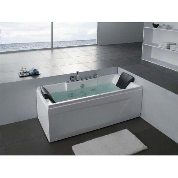 Гидромассажная ванна Gemy G9065 B (сифон автомат)