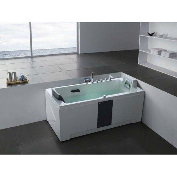 Гидромассажная ванна Gemy G9066II K (сифон автомат)