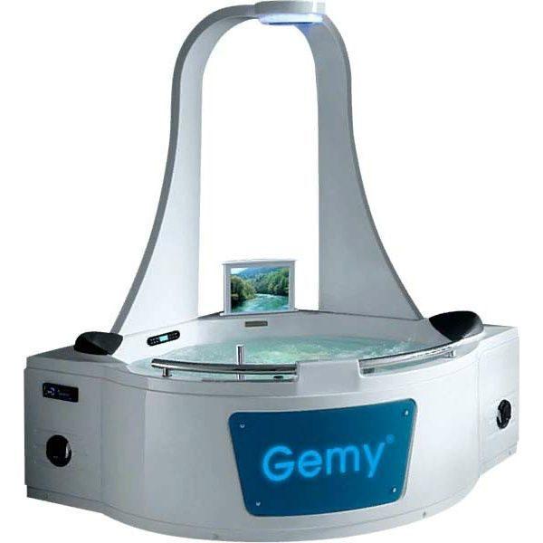 Гидромассажная ванна Gemy G9070 O (сифон автомат)