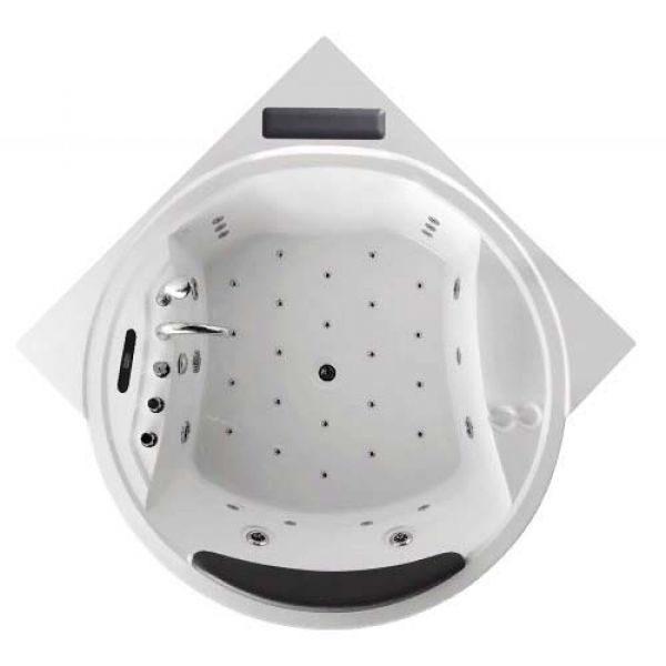 Гидромассажная ванна Gemy G9071 II K (сифон автомат)