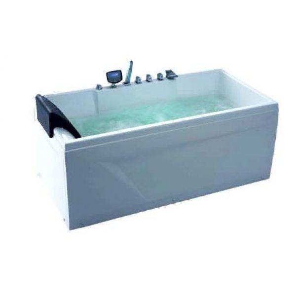 Гидромассажная ванна Gemy G9075 K (сифон автомат)