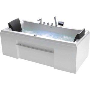 Гидромассажная ванна Gemy G9076 K (сифон автомат)