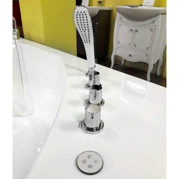 Акриловая ванна Gemy G9080 O (сифон автомат)