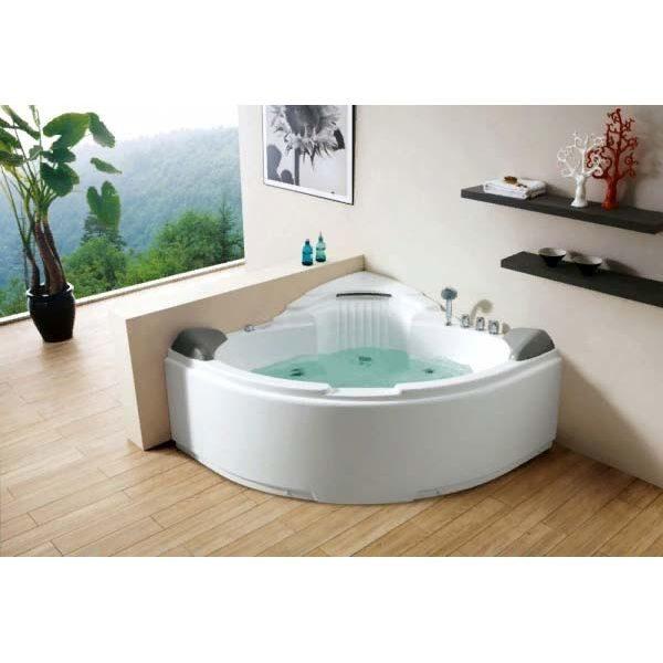 Гидромассажная ванна Gemy G9082 B (сифон автомат)