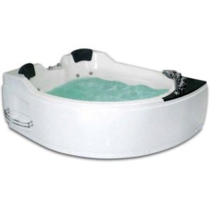 Гидромассажная ванна Gemy G9086 B (сифон автомат)
