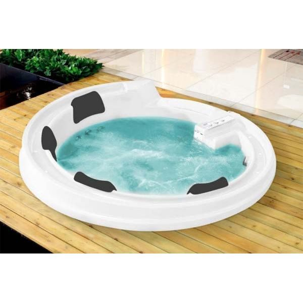 Гидромассажная ванна Gemy G9090 K (сифон автомат)