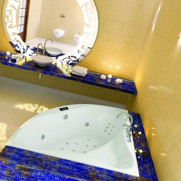Акриловая ванна Excellent Glamour 150x150 (сифон автомат)