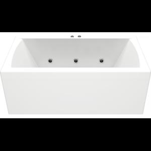 Гидромассажная ванна BAS Индика 170x80 (сифон автомат)