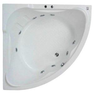 Гидромассажная ванна BAS Ирис 150х150 (сифон автомат)