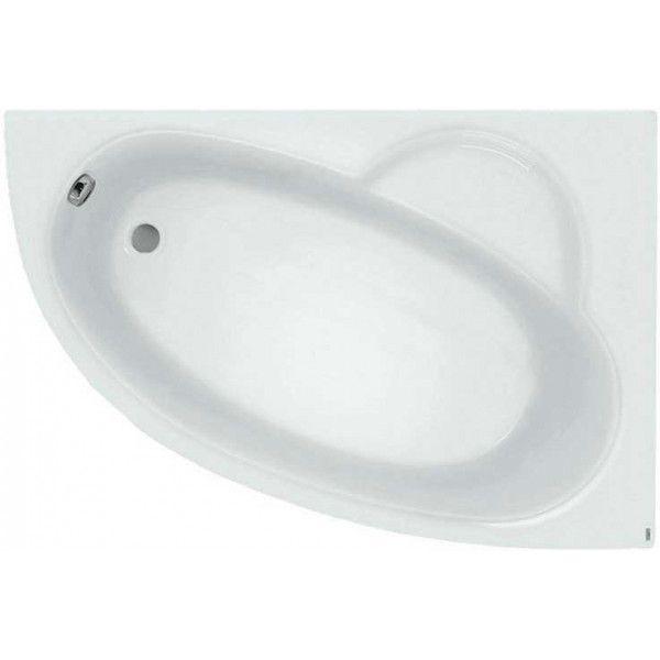 Акриловая ванна Poolspa Klio Asym 150x100 (сифон автомат)