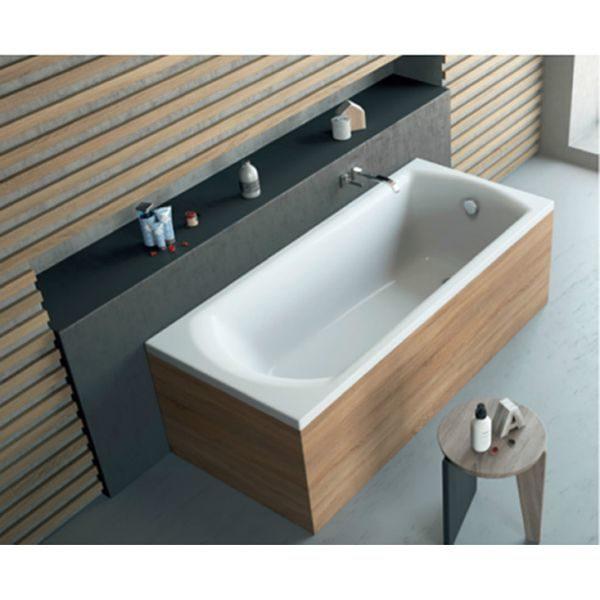 Акриловая ванна Excellent Lamia 150x75 (сифон автомат)