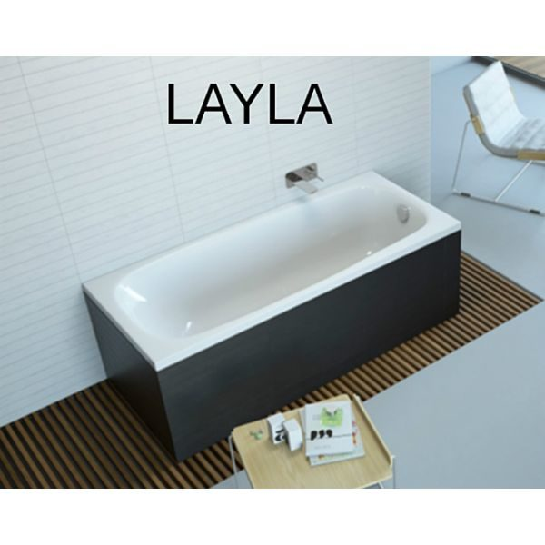 Акриловая ванна Excellent Layla 170x75 (сифон автомат)