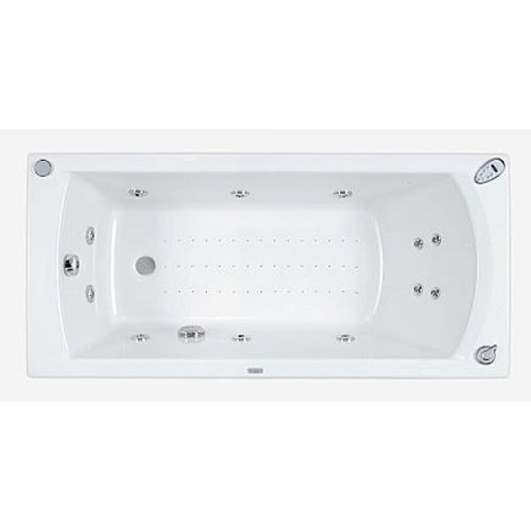 Акриловая ванна Poolspa Linea 160x70 (сифон автомат)
