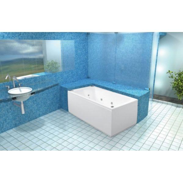 Акриловая ванна Poolspa Linea 170x75 (сифон автомат)