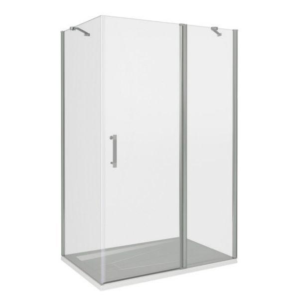 Душевой уголок Good Door MOKKA WTW+SP 110x80