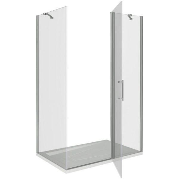 Душевой уголок Good Door MOKKA WTW+SP 140x80