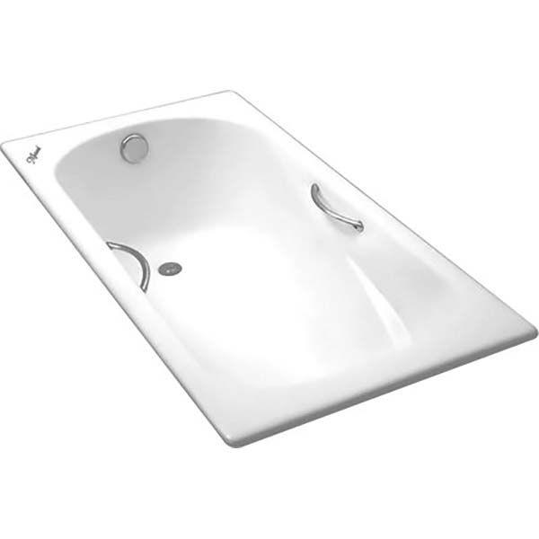 Чугунная ванна Maroni Colombo 150x75 с ручками (сифон)