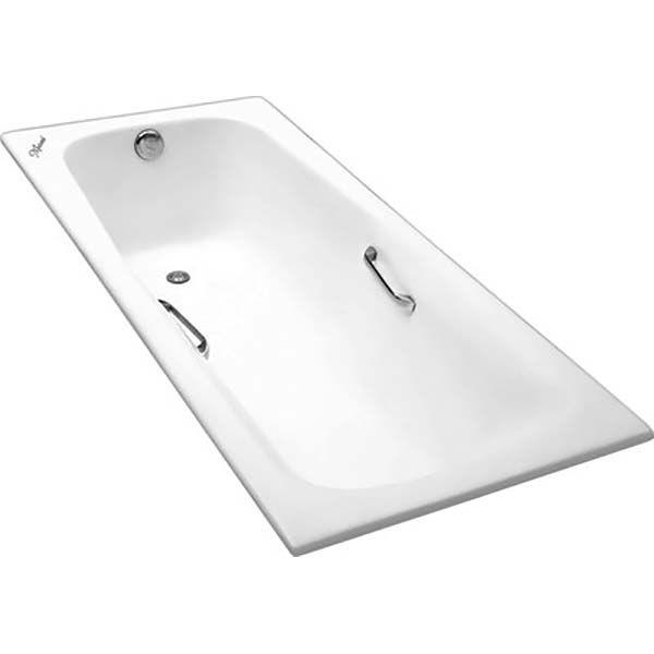 Чугунная ванна Maroni Giordano 180x80 с ручками (сифон автомат)