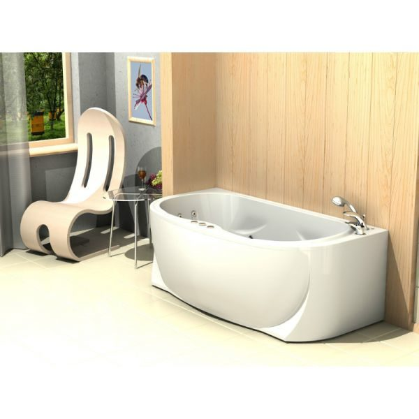 Акриловая ванна Aquatek Мелисса 180x95 (сифон)