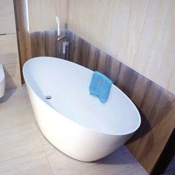 Смеситель для ванны и душа Omnires Siena SN7333 CHR напольный