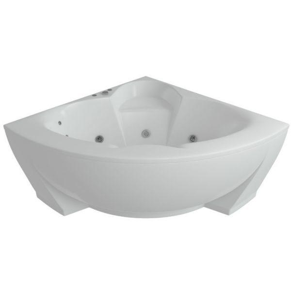 Акриловая ванна Aquatek Поларис 140х140 (сифон)