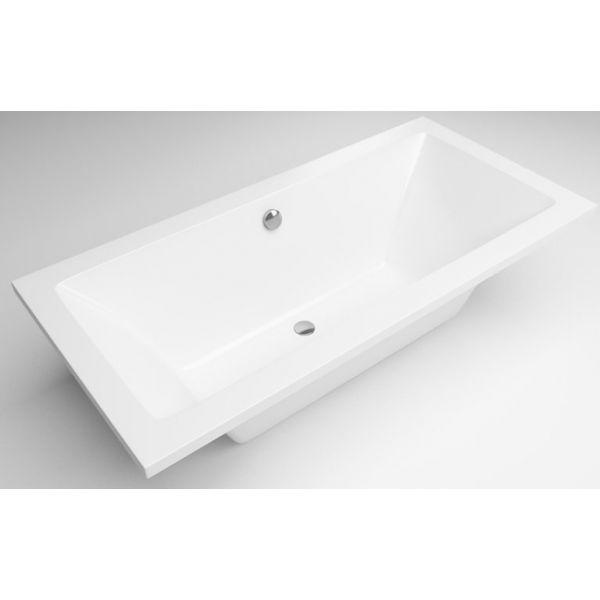 Акриловая ванна Excellent Pryzmat Lux 170x80 (сифон автомат)