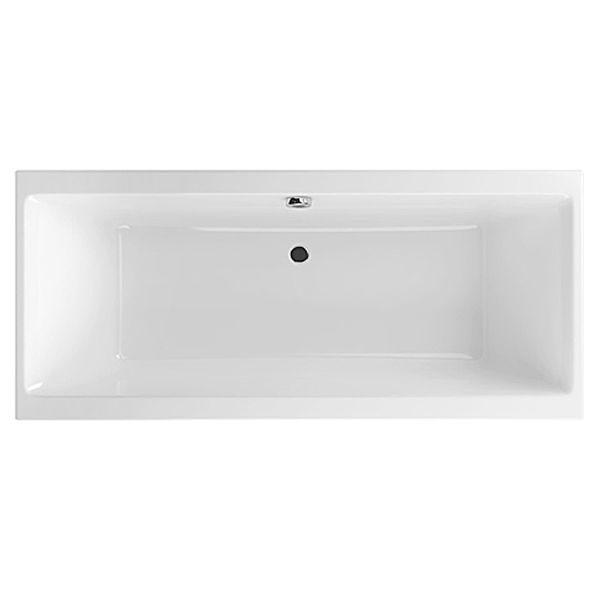Акриловая ванна Excellent Pryzmat 160x75 (сифон автомат)