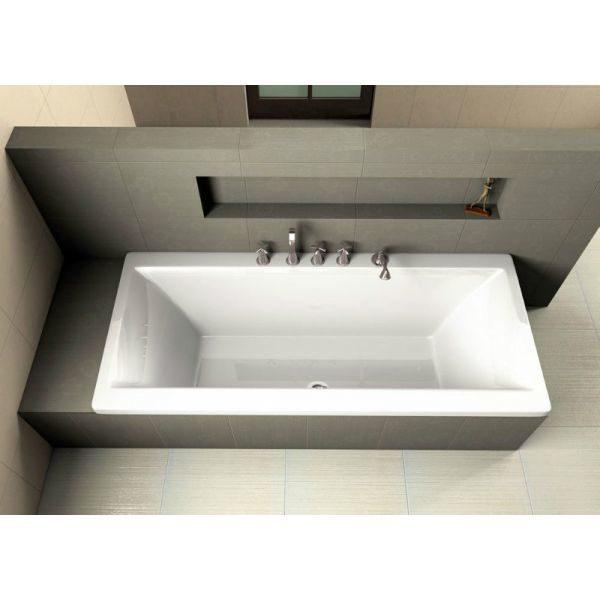 Акриловая ванна Excellent Pryzmat 190x90 (сифон автомат)