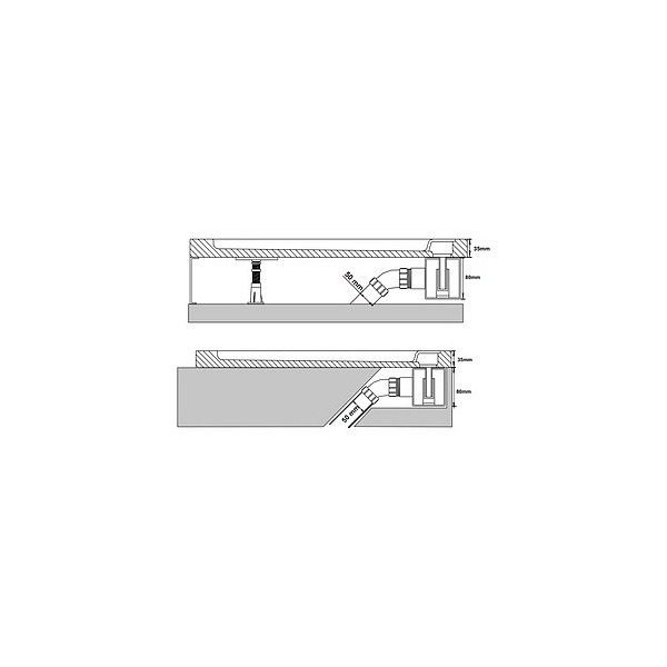Душевой поддон RGW AWS-31 100х100