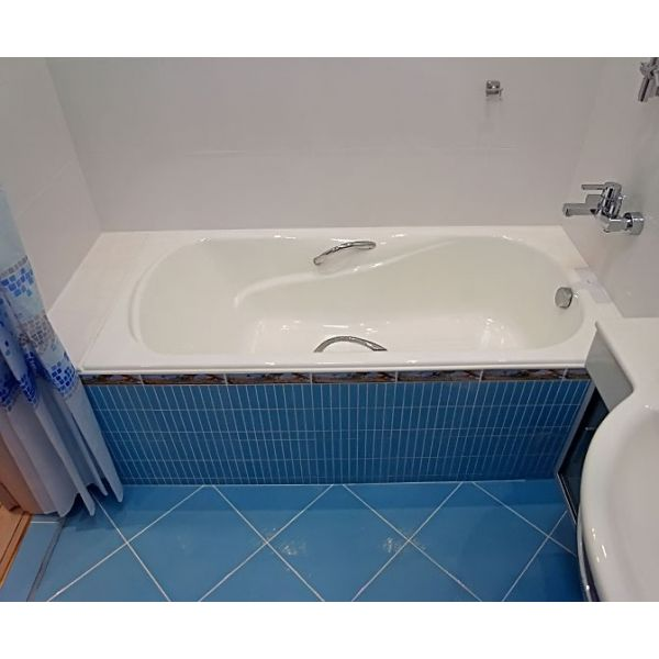 Чугунная ванна Roca Haiti 150x80 (сифон автомат)