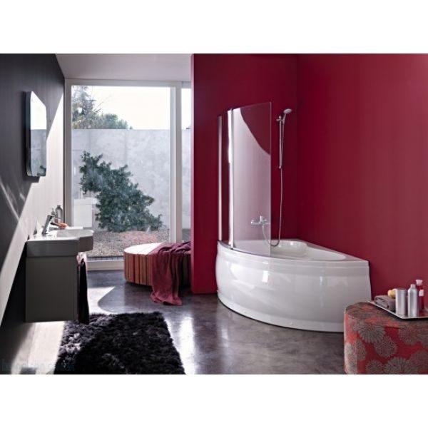 Акриловая ванна Kolpa-san Romeo 155x100 (сифон автомат)