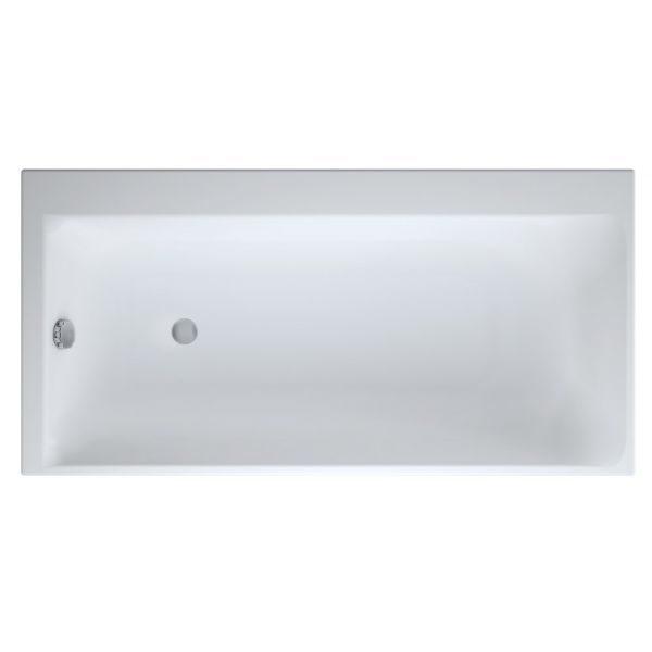 Акриловая ванна Cersanit SMART 160x80 (сифон)