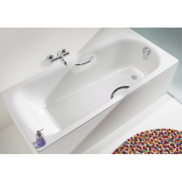 Стальная ванна Kaldewei Saniform Plus Star 335 170x70 (сифон автомат)