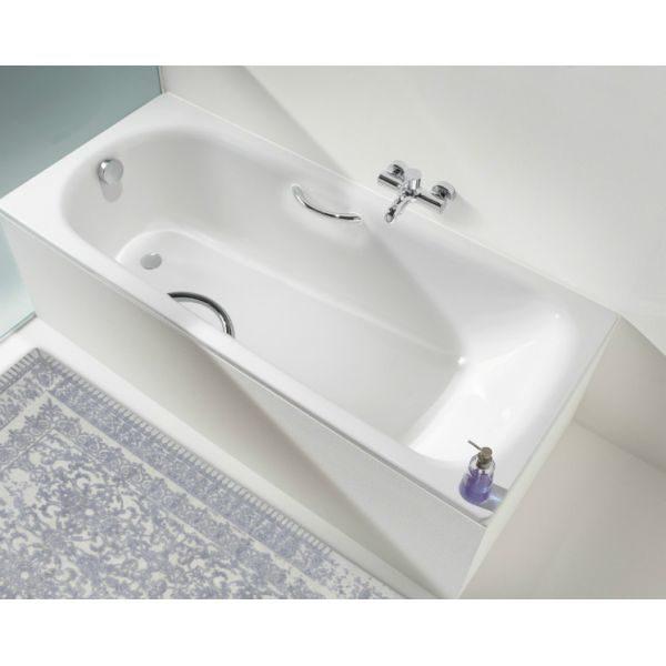 Стальная ванна Kaldewei Saniform Plus Star 332 160x70 (сифон автомат)