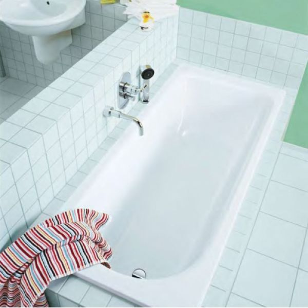 Стальная ванна Kaldewei Saniform Plus 374 Easy-clean 175x75 (сифон автомат)