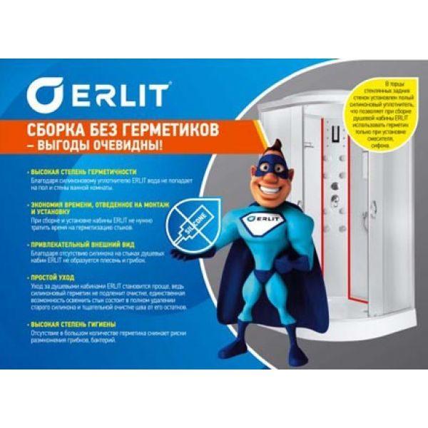 Душевой уголок Erlit ER 10209D-62 90x90