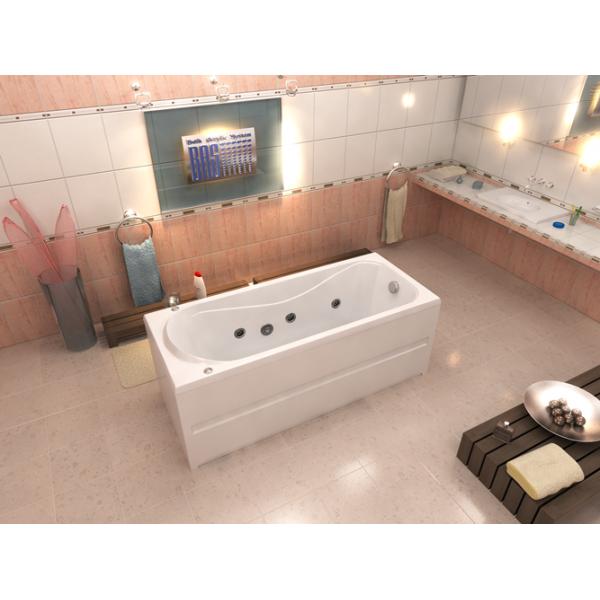 Гидромассажная ванна BAS Стайл 160x70 (сифон автомат)