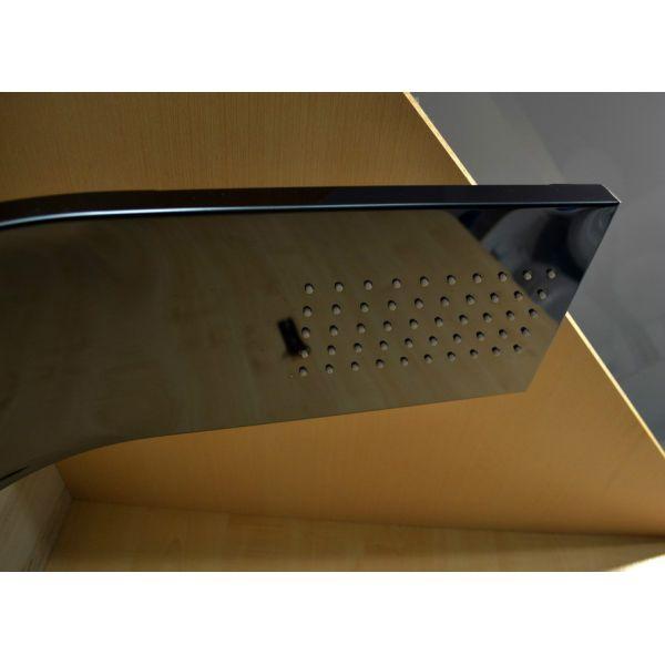 Гидромассажная панель Leroy Titanium Black