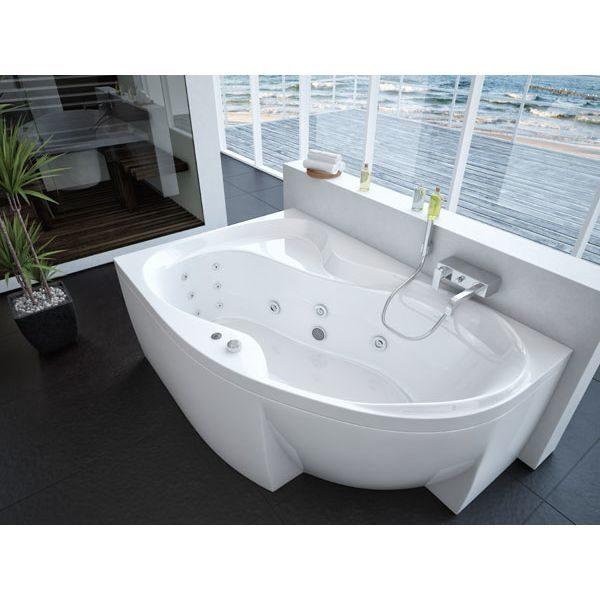 Акриловая ванна Aquatek Вега L/R 170х105 (сифон)
