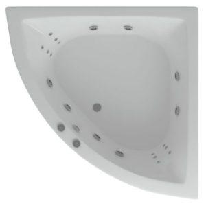 Акриловая ванна Aquatek Юпитер 150х150 (сифон)