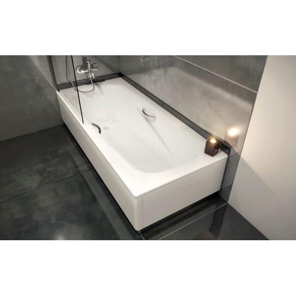 Стальная ванна BLB Universal Anatomica 160x75 (сифон автомат)